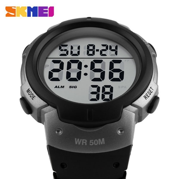 часы SKMEI 1068 серебро - 7