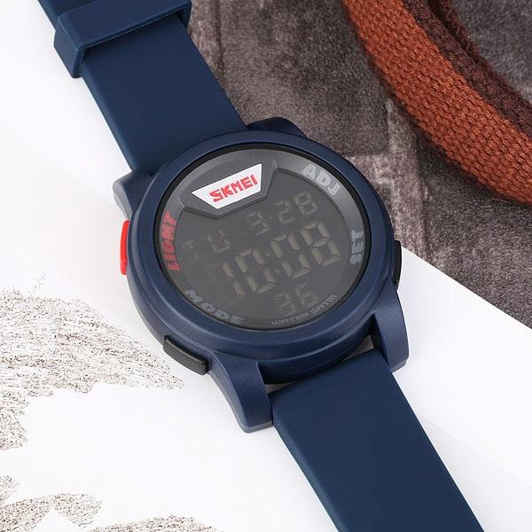 часы SKMEI 1218 Blue (синие) - 5