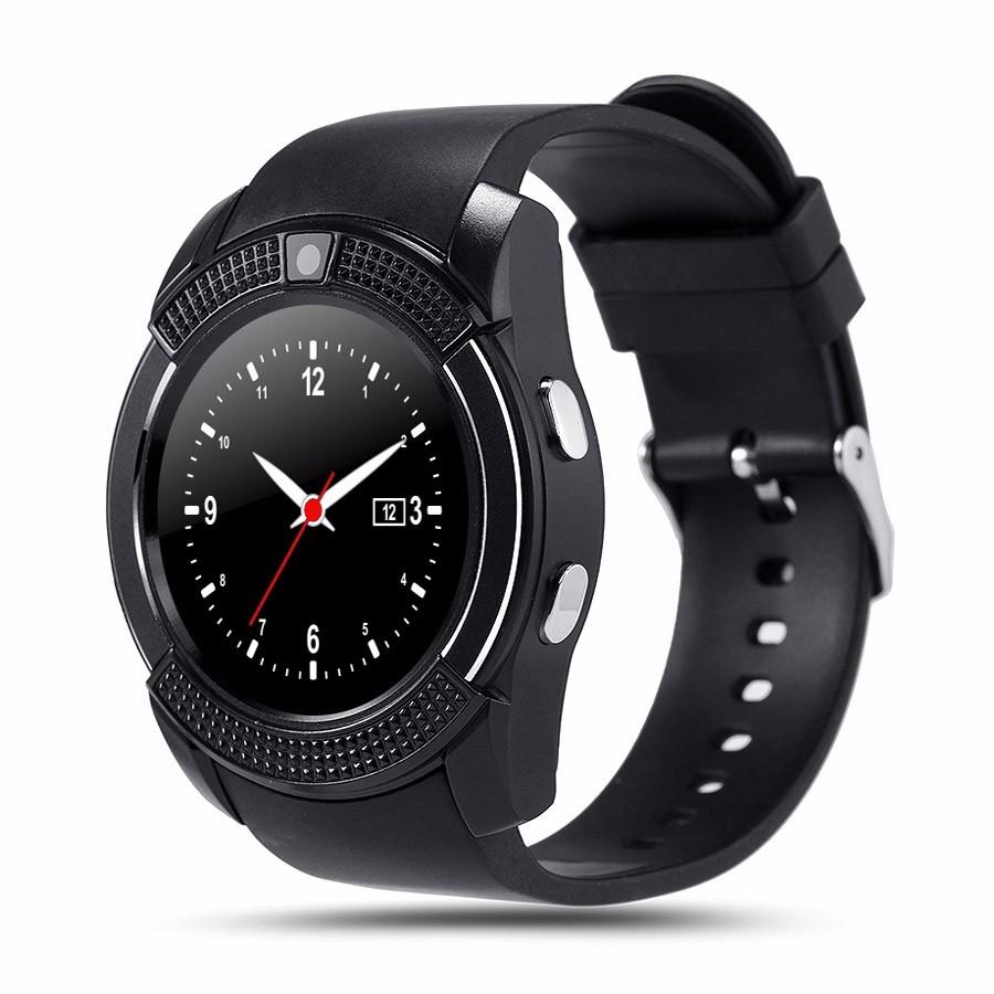 Смарт часы V8 черные - 1