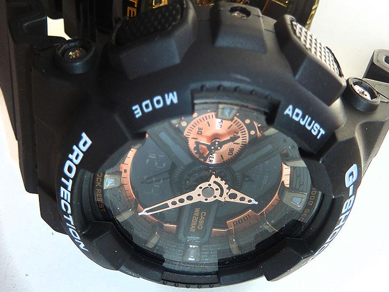 часы 110 ААА чёрные в меди - 3