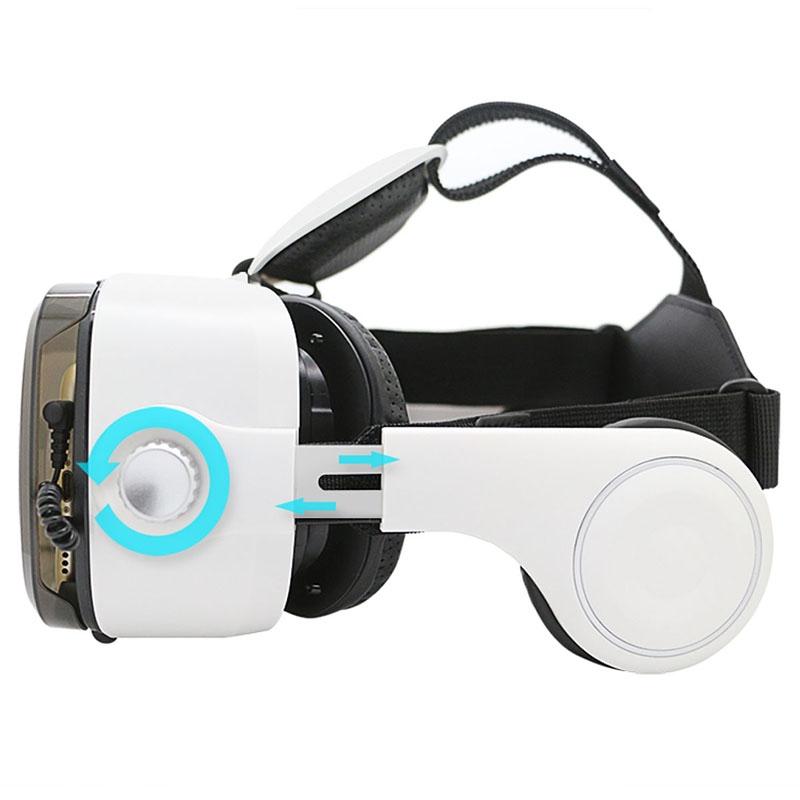Очки-шлем BOBOVR Z4 white с наушниками - 5