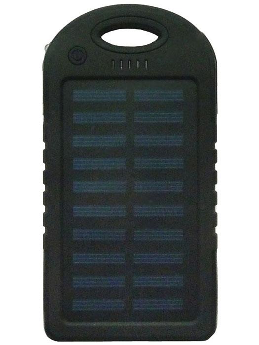 Power Bank Solar 5000 мАч черный - 1