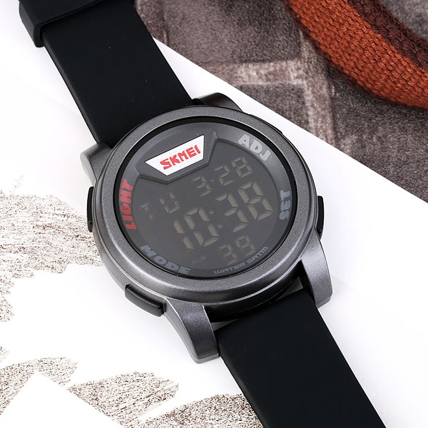часы SKMEI 1218 Silver (серебро) - 6