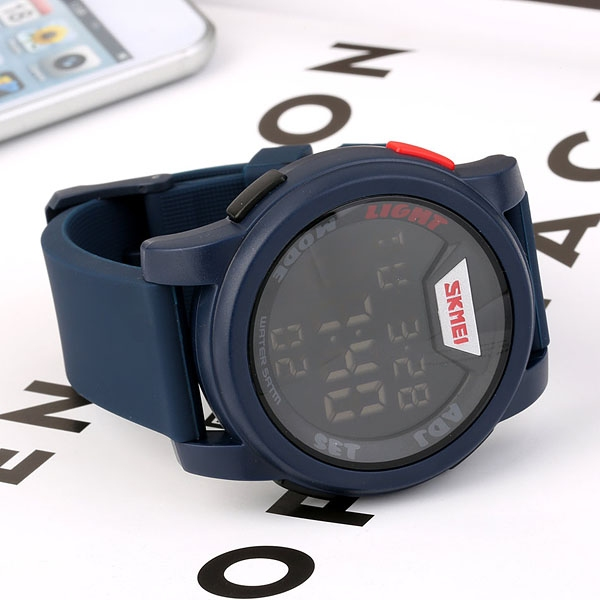 часы SKMEI 1218 Blue (синие) - 4
