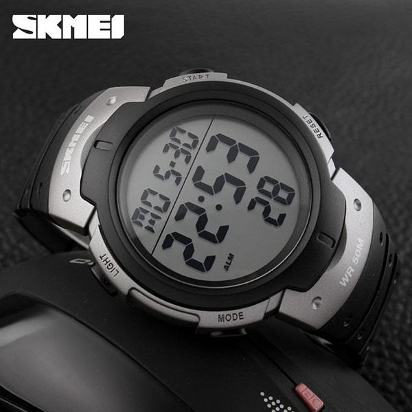 часы SKMEI 1068 серебро - 3