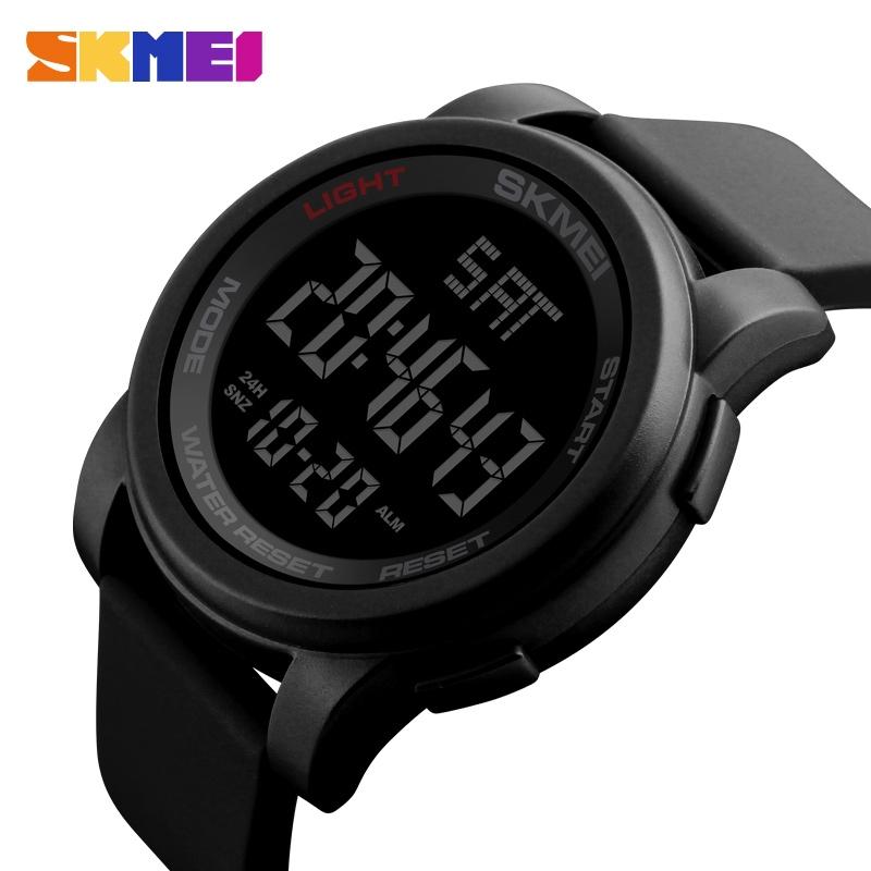 часы SKMEI 1257 чёрные - 2