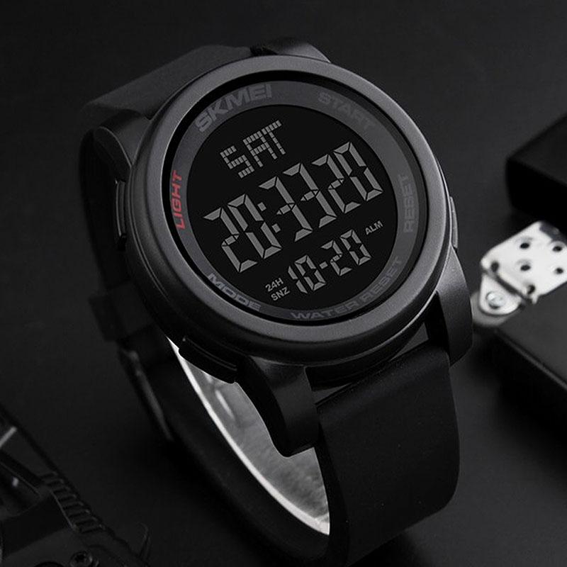 часы SKMEI 1257 чёрные - 5