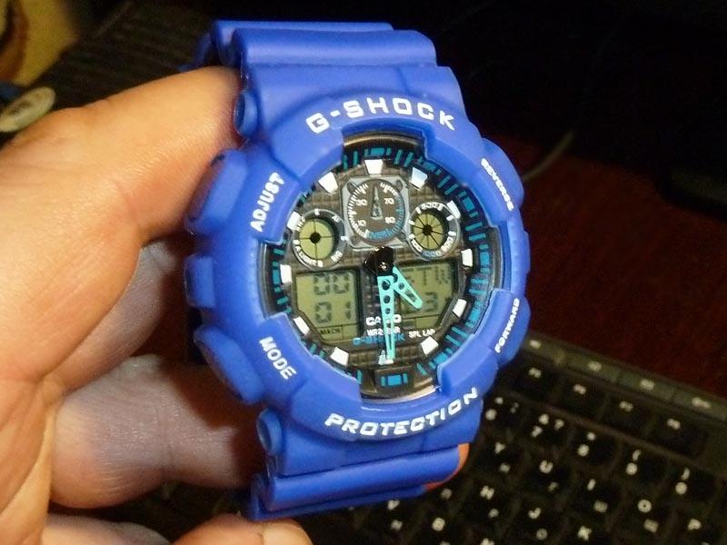 часы  100 синие - 1