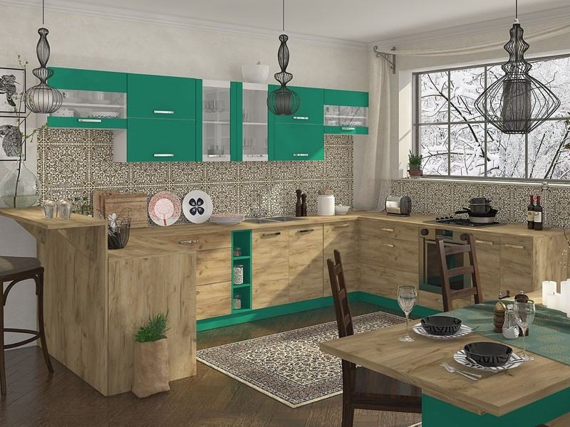 кухня ШАРЛОТТА крафт - 10