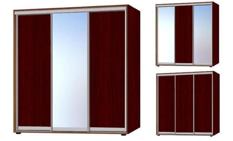 шкаф купе 230,  3 фасада - 1