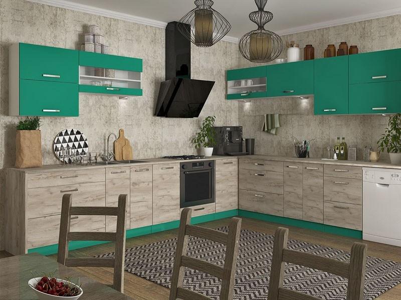 кухня ШАРЛОТТА крафт - 2