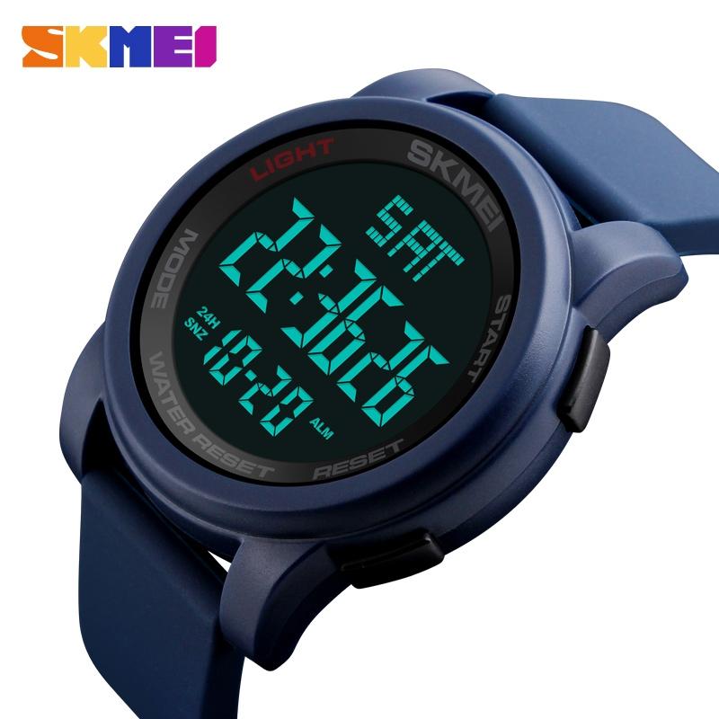 часы SKMEI 1257 синие - 2