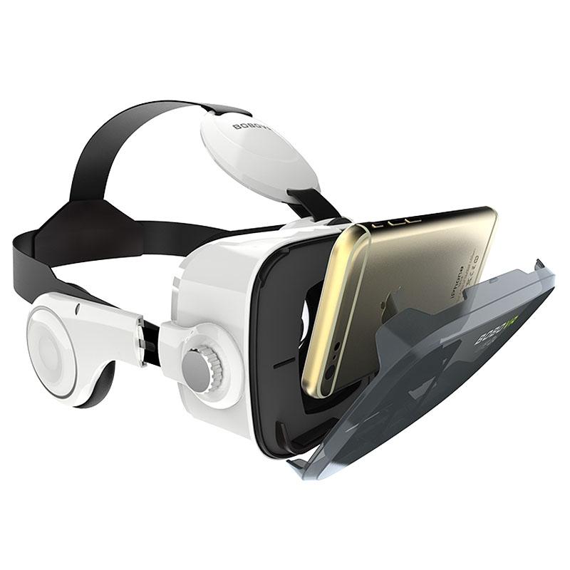 Очки-шлем BOBOVR Z4 white с наушниками - 4