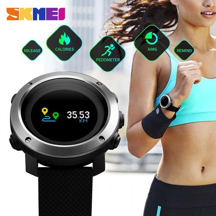 часы SKMEI 1336 Фитнес браслет - 4