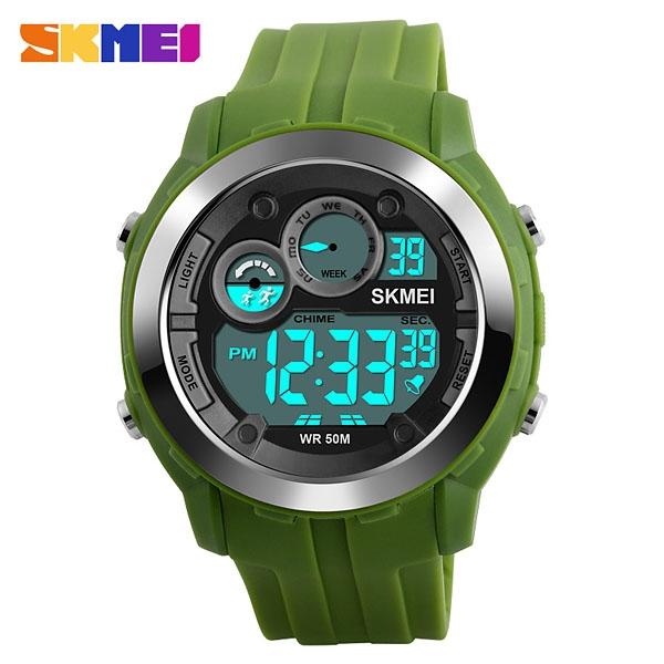 часы SKMEI 1234 Green (зелёные) - 1