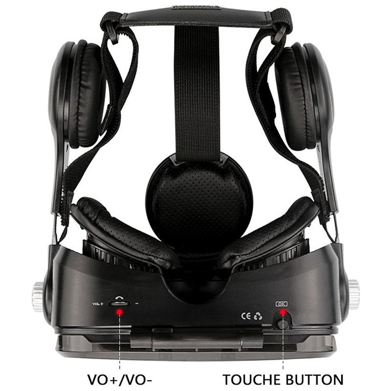 Очки-шлем BOBOVR Z4 black с наушниками - 5
