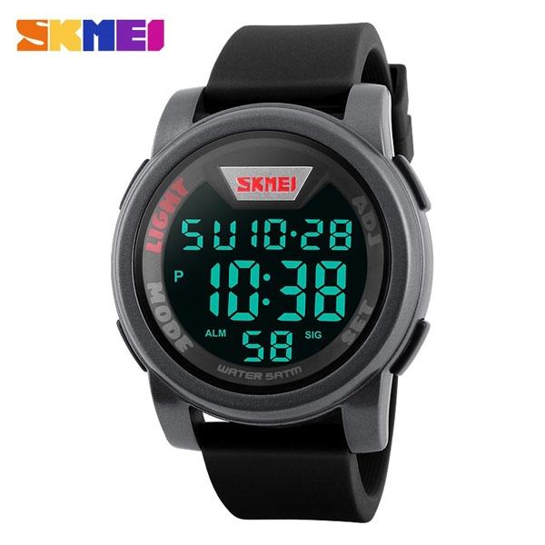 часы SKMEI 1218 Silver (серебро) - 1