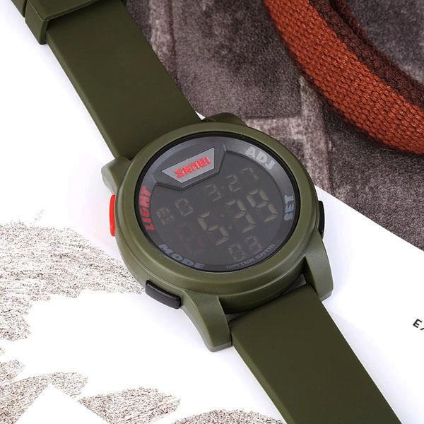 часы SKMEI 1218 Army Green (хаки) - 7