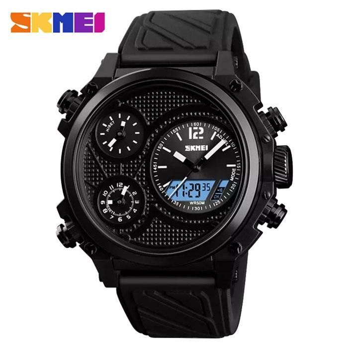 часы SKMEI 1359 чёрные - 1