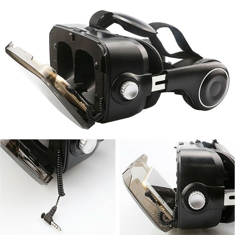 Очки-шлем BOBOVR Z4 black с наушниками - 4
