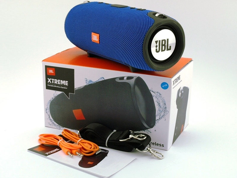 колонка Bluetooth JBL XTREME SMALL синяя - 6