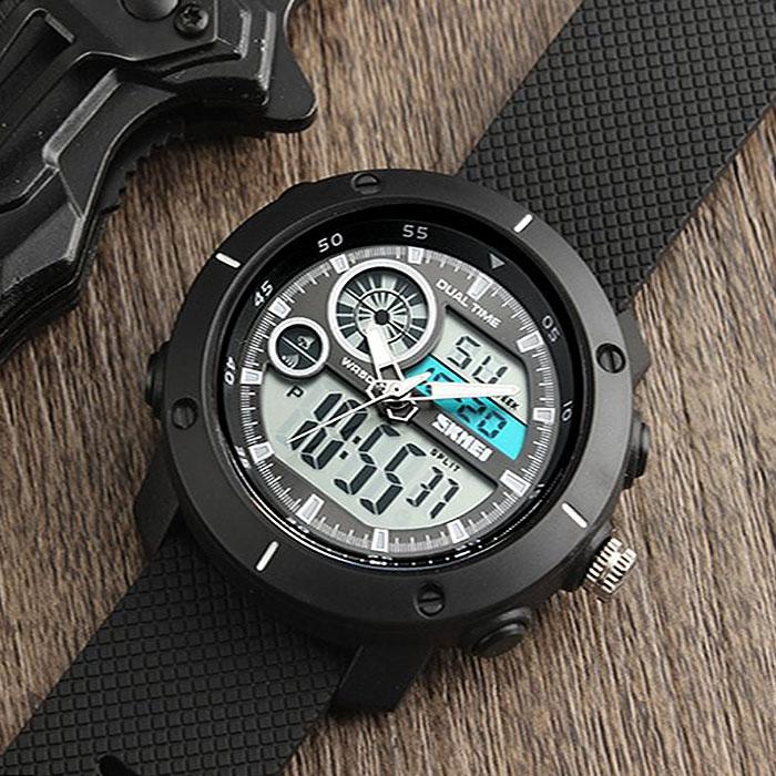 часы SKMEI 1361 чёрные - 3