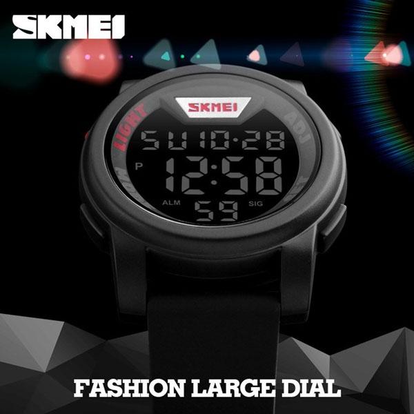 часы SKMEI 1218 Silver (серебро) - 4