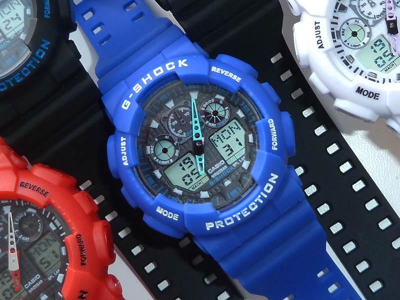 часы  100 синие - 2