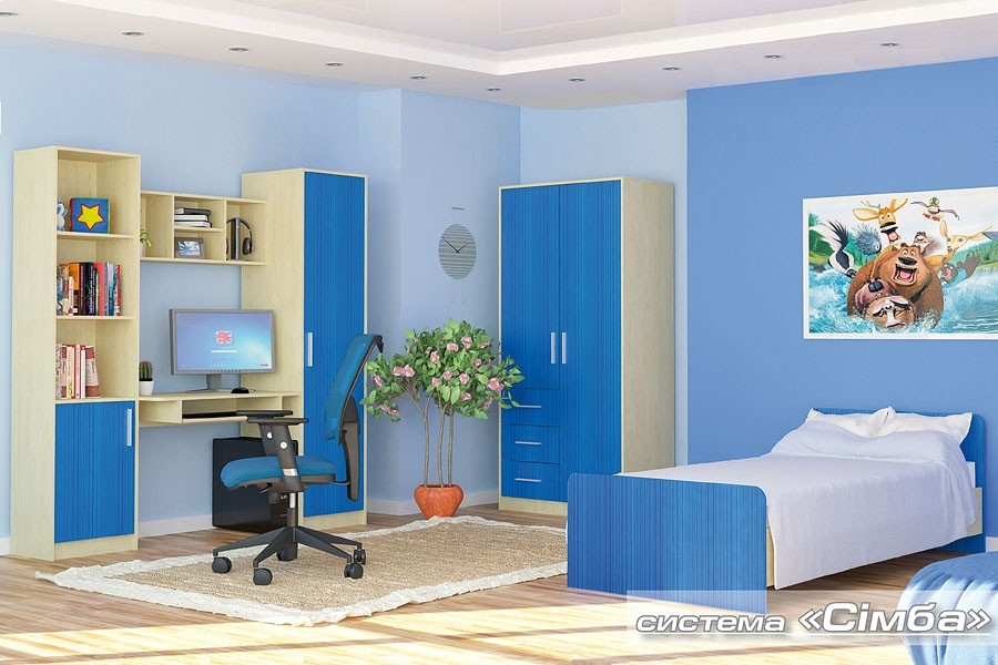 кровать 900 СИМБА - 2