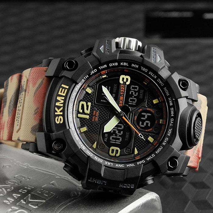 часы SKMEI 1327 камуфляж - 4