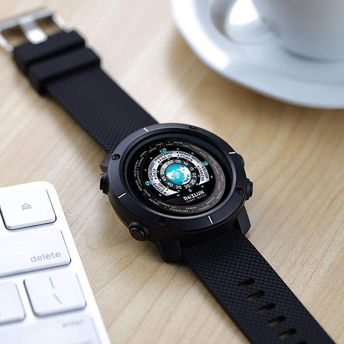 часы SKMEI BOZLUN W30 smart watch black (чёрные) - 1