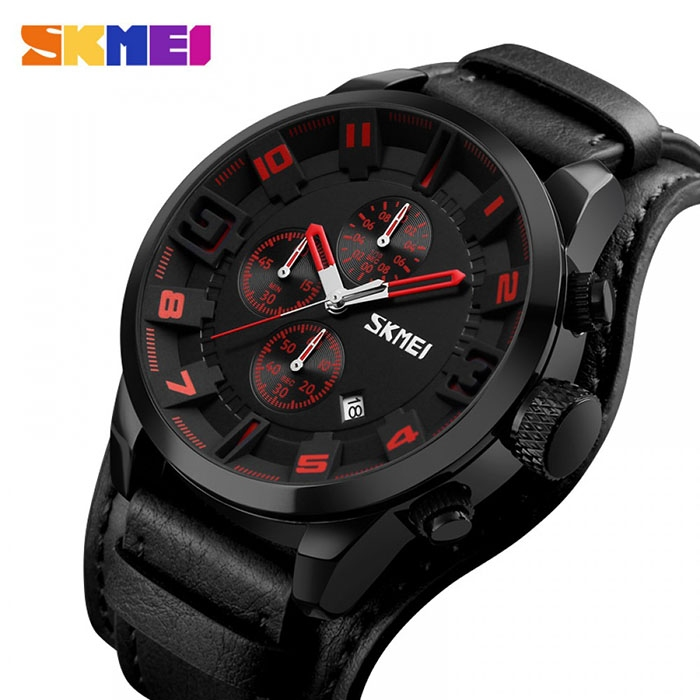 часы SKMEI 9165 red / black (красный / чёрный) - 1