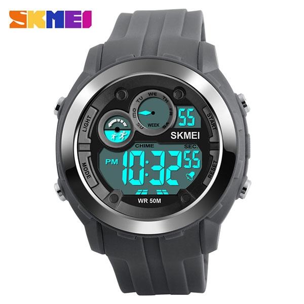 часы SKMEI 1234 Gray (серые) - 1