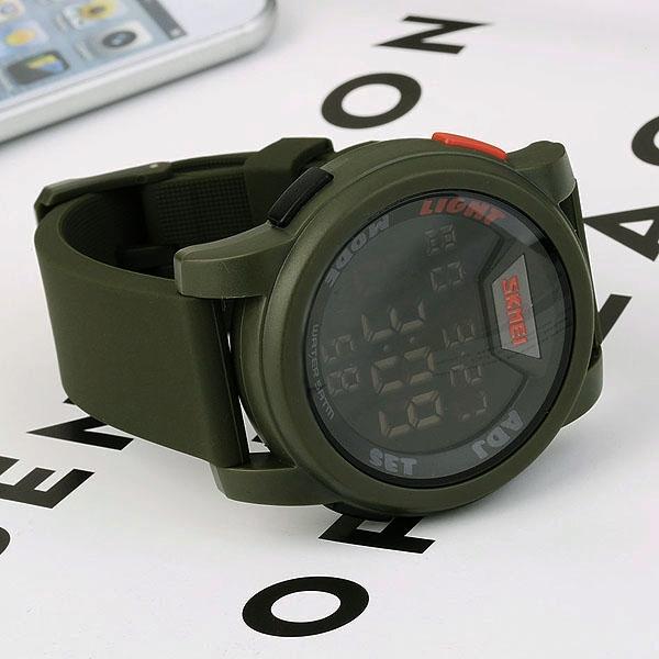 часы SKMEI 1218 Army Green (хаки) - 6