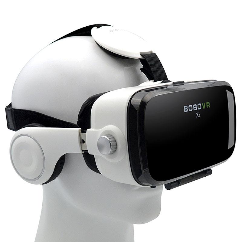 Очки-шлем BOBOVR Z4 white с наушниками - 6