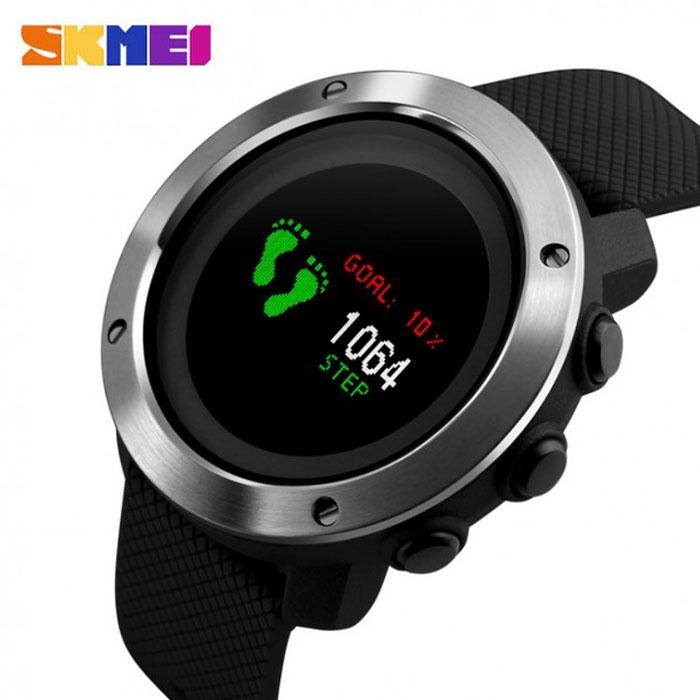 часы SKMEI 1336 Фитнес браслет - 1