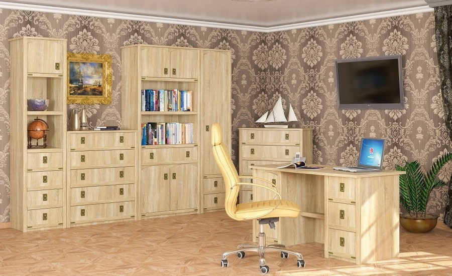 стол письменный 3ш ВАЛЕНСИЯ - 1