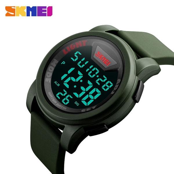 часы SKMEI 1218 Army Green (хаки) - 3