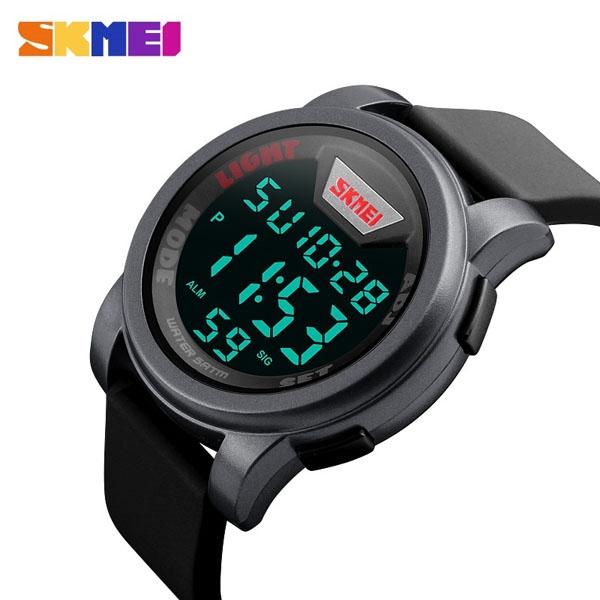 часы SKMEI 1218 Silver (серебро) - 3