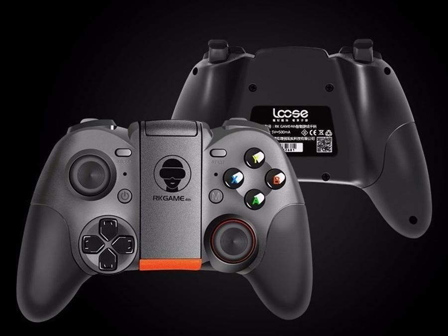 джойстик-контроллер Bluetooth RK GAME -4го с затвором. - 8
