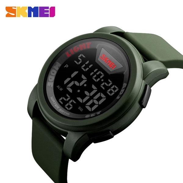 часы SKMEI 1218 Army Green (хаки) - 2