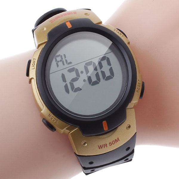 часы SKMEI 1068 золото - 1