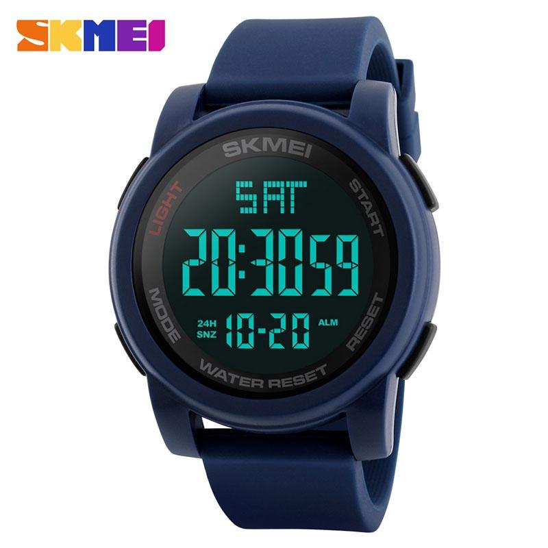 часы SKMEI 1257 синие - 1