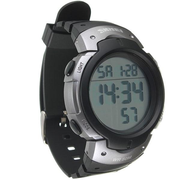 часы SKMEI 1068 серебро - 5