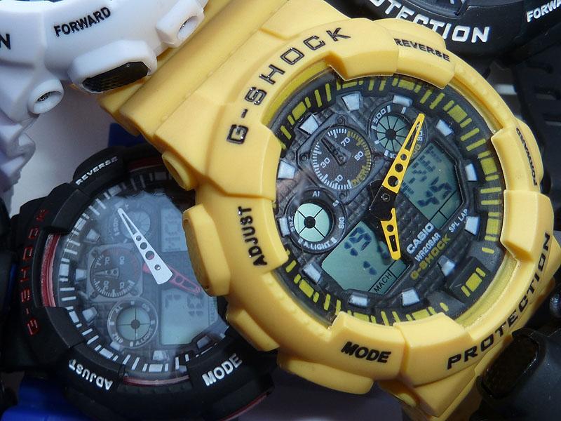 часы 100 желтые - 1
