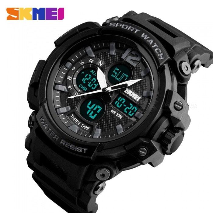 часы SKMEI 1343 чёрные - 3