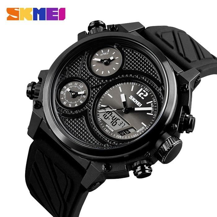 часы SKMEI 1359 чёрные - 2