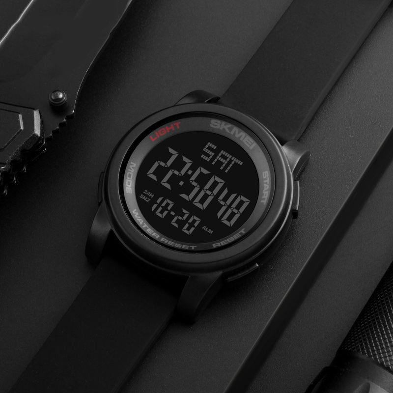 часы SKMEI 1257 чёрные - 4