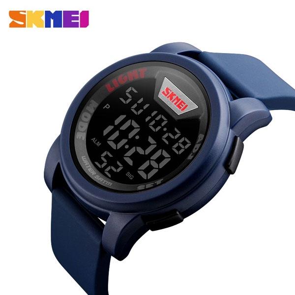 часы SKMEI 1218 Blue (синие) - 2
