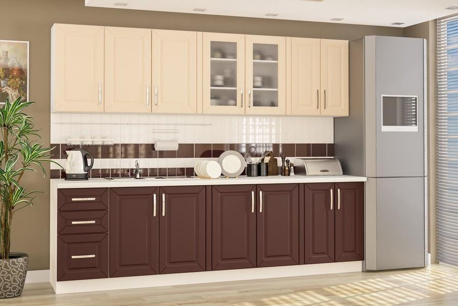 кухня ГАММА (матовые фасады) - 2
